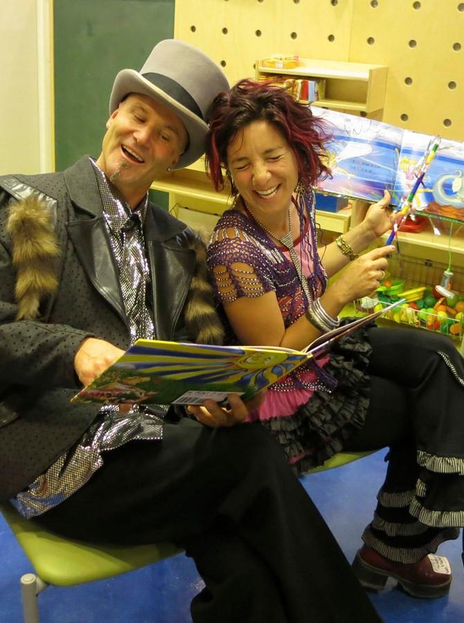 Joey D. and Jade Turgel