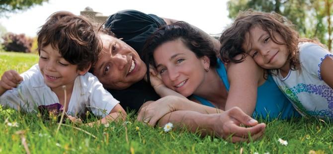 Jade Turgel and family