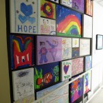 The USCF Benioff Children's Hospital art gallery.